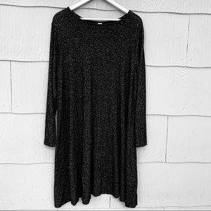 Old Navy   Gray Knit Swing Dress   XXL